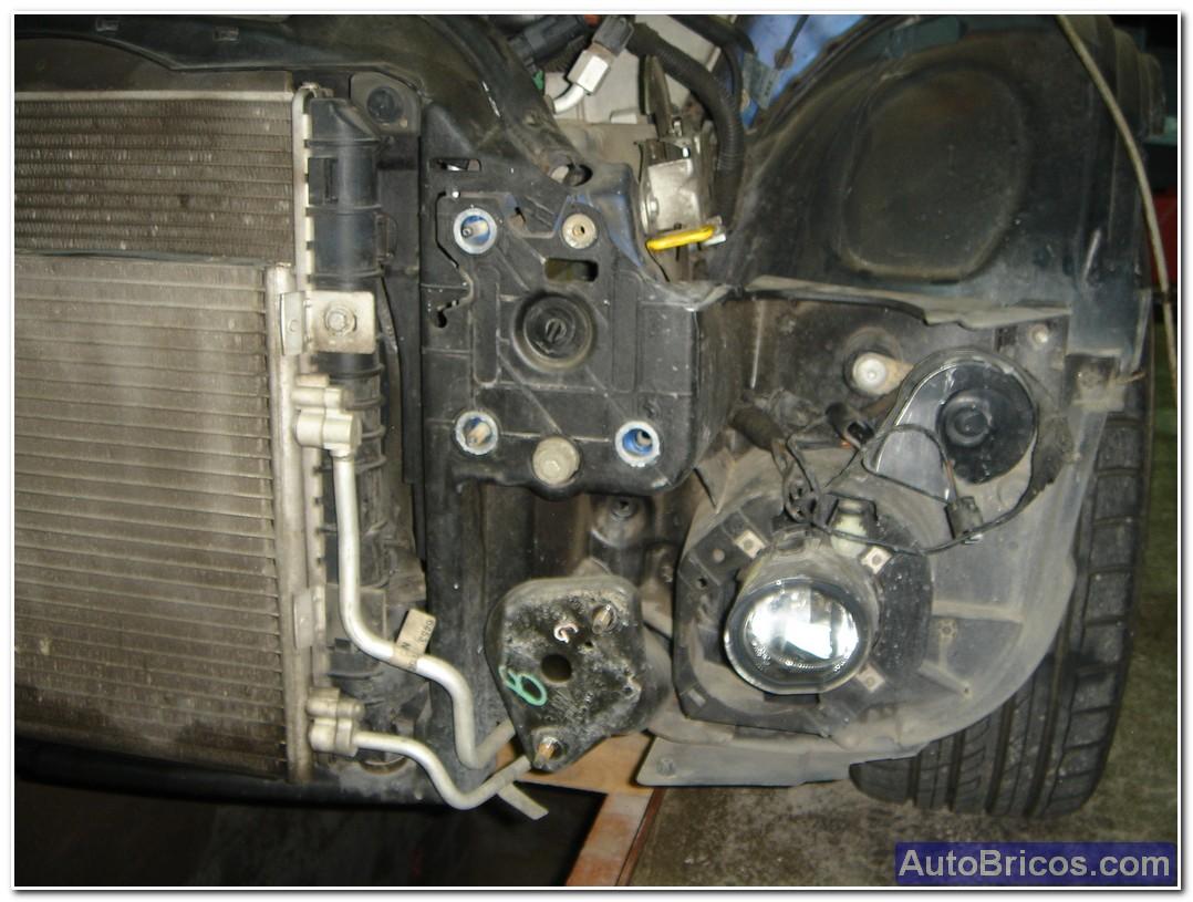 Cambiar motor del ventilador del radiador